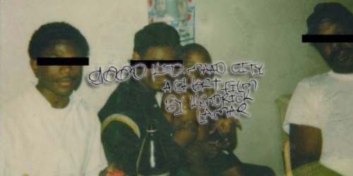 19. Kendrick Lamar - good kid, m.A.A.d city