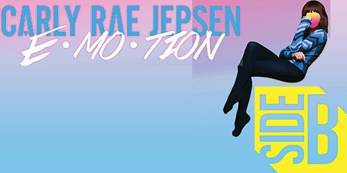 3. Carly Rae Jepsen - E MO TION Side B