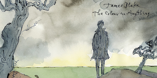 31. James Blake - The Colour in Anything
