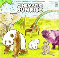 cinematic sunrise a coloring story book and a long